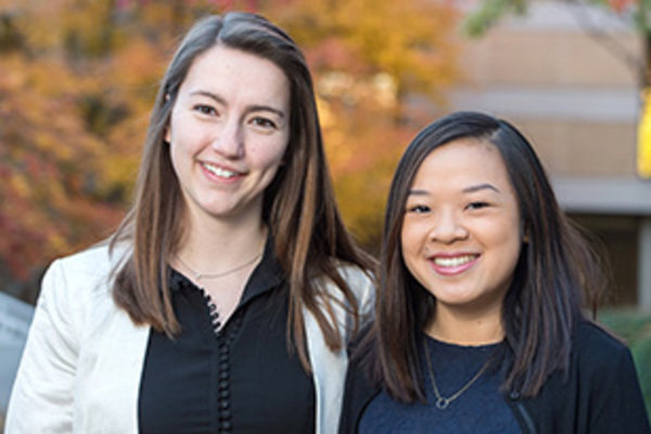 2017 Student Peace Conference Co-Chairs: Leah Landry and Victoria Lew
