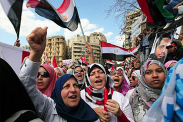 Glimpses of the Revolution in Egypt