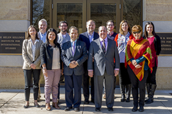 Kroc and Kellogg Institutes Host Colombian University Delegation