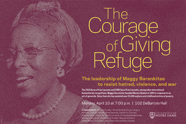 The Courage of Giving Refuge: Marguerite Barankitse