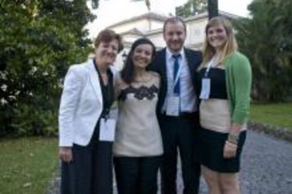 Peace Studies Senior Interns at Vatican