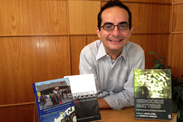 Scholar of Genocide and Social Movements Edits Three New Books