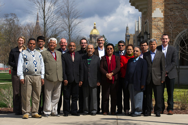 Nepali Political Leaders, Facilitators Gather at Notre Dame for Seminar on Peace Negotiations