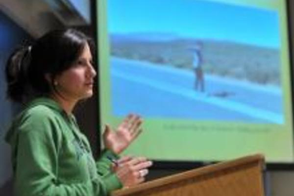 Master's Students Present Lessons Learned from International Internships
