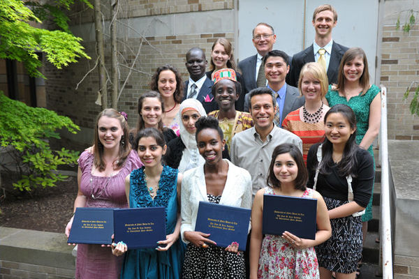 Peace Studies Class of 2011 Honored