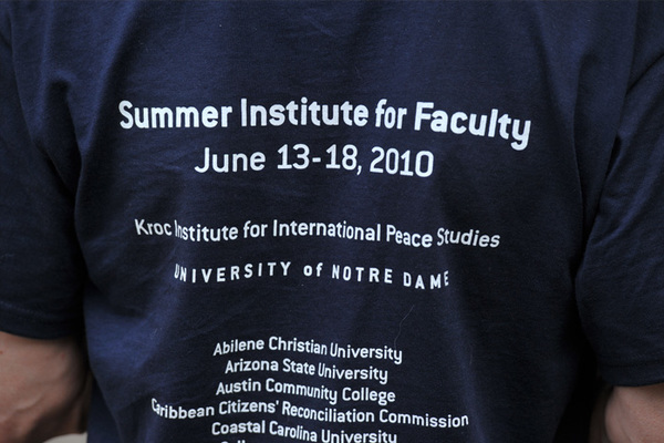 Summer Institute Focuses on Teaching Peace