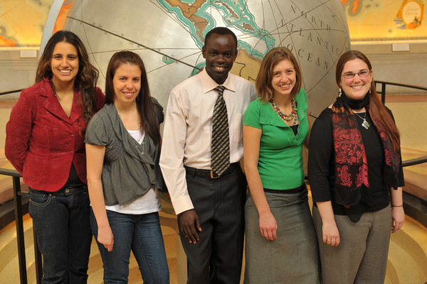 M.A. Students Selected to Present Peacebuilding Proposal at UN