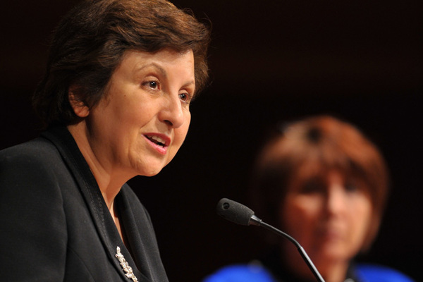 Ebadi Urges Support for Human Rights