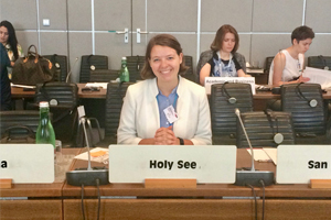Sarah At The Holy See