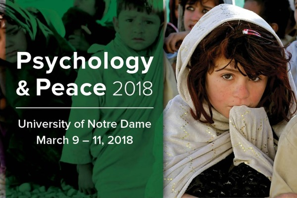Kroc Institute to Host Inaugural Peace and Psychology Conference