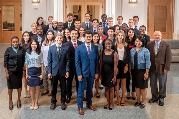 Welcome, Master of Global Affairs Class of 2020!
