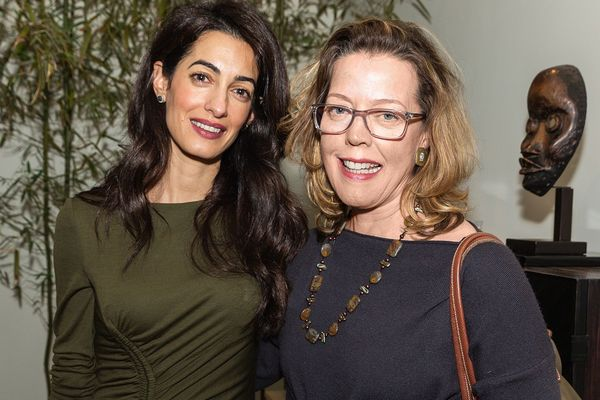 Photo: Mary Ellen O'Connell and Amal Clooney at American Society of International Law Event