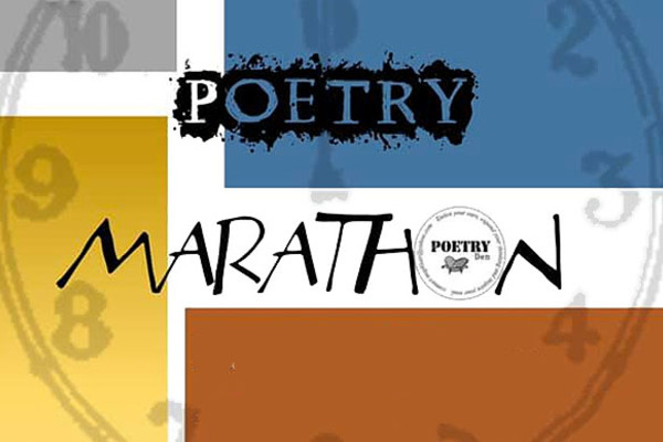 South Bend Poetry Marathon, Hosted by The Poetry Den