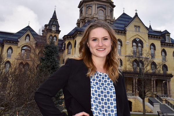 For peace studies student Grace Garvey, exploring other disciplines is key to research success
