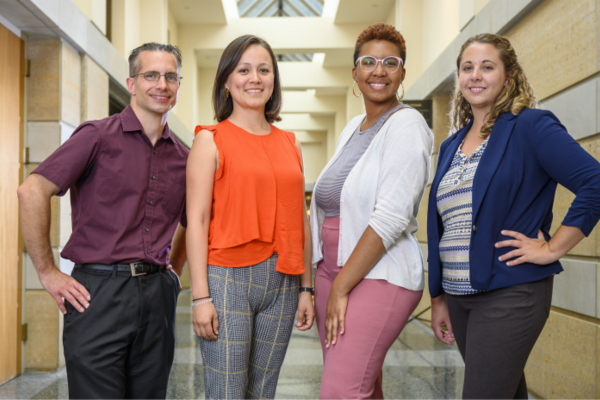 Kroc Institute welcomes four new Ph.D. students