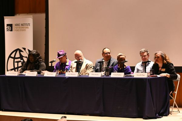 Panel discusses reparations and reconciliation at Notre Dame and beyond