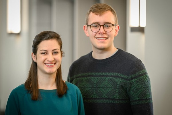 2020 Student Peace Conference Co-Chairs: Mitchell Larson and Maria Rossi