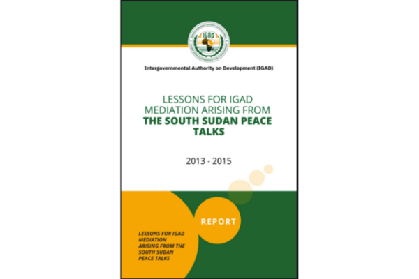 New report released on South Sudan mediation