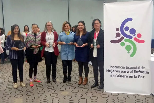 Peace Accords Matrix program awarded for monitoring gender perspective implementation in Colombia