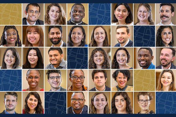 Master of Global Affairs Class of 2022 overcomes obstacles to begin spring semester together